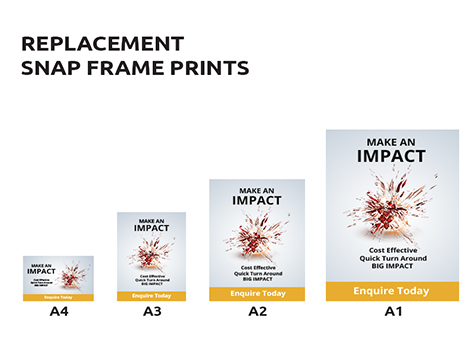 Replacement Snap Frame Prints