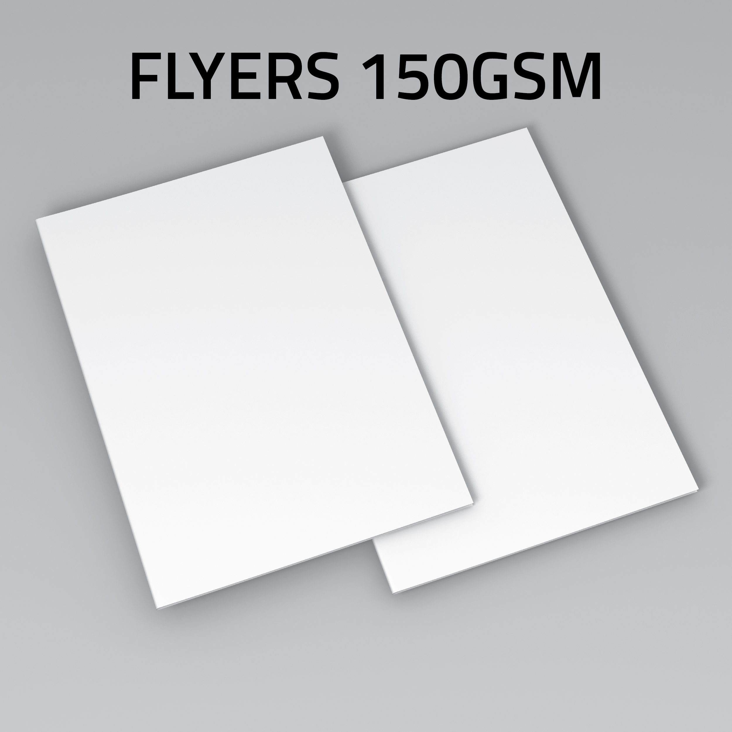Flyers 150gsm gloss or matt