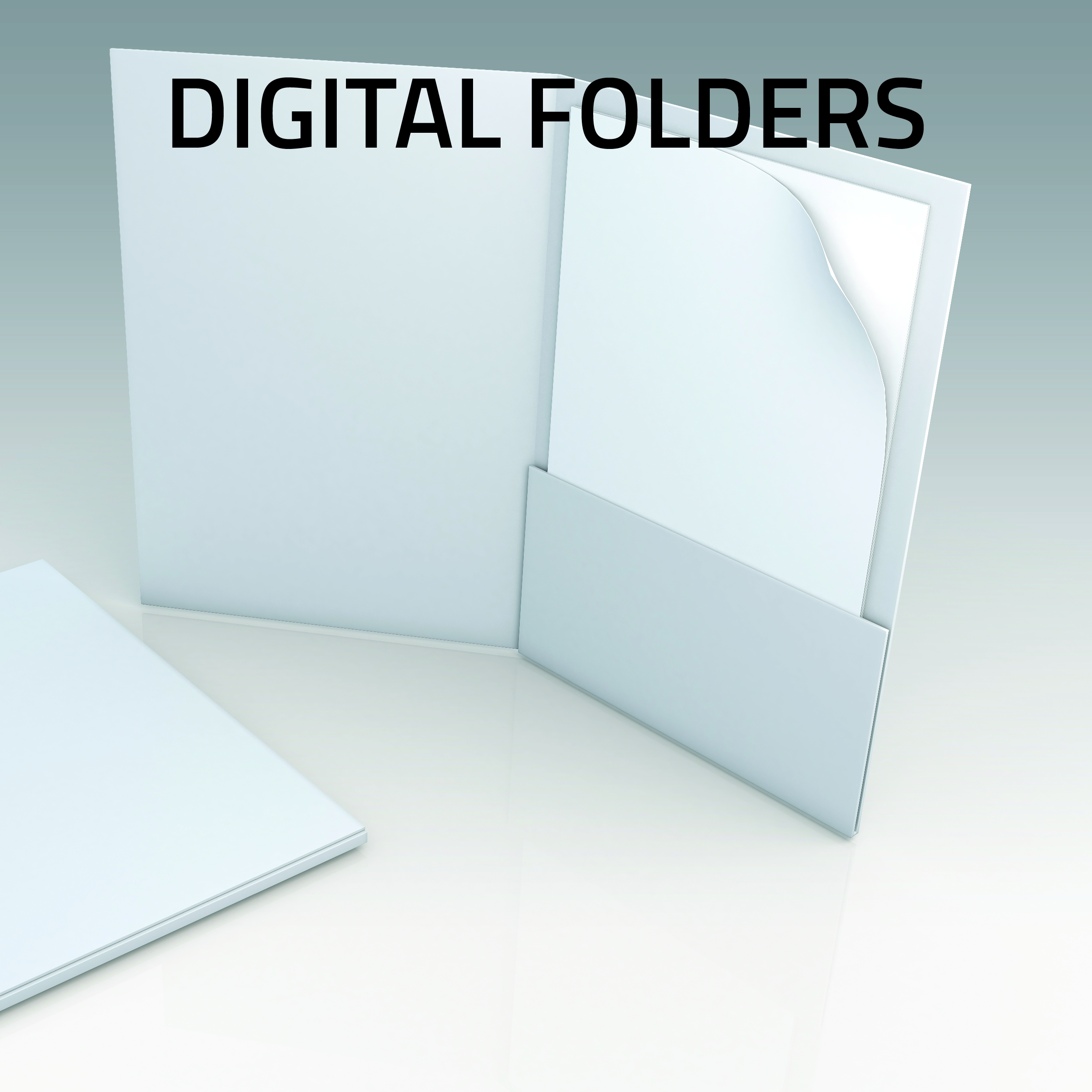 Digital Pesentation Folders small run