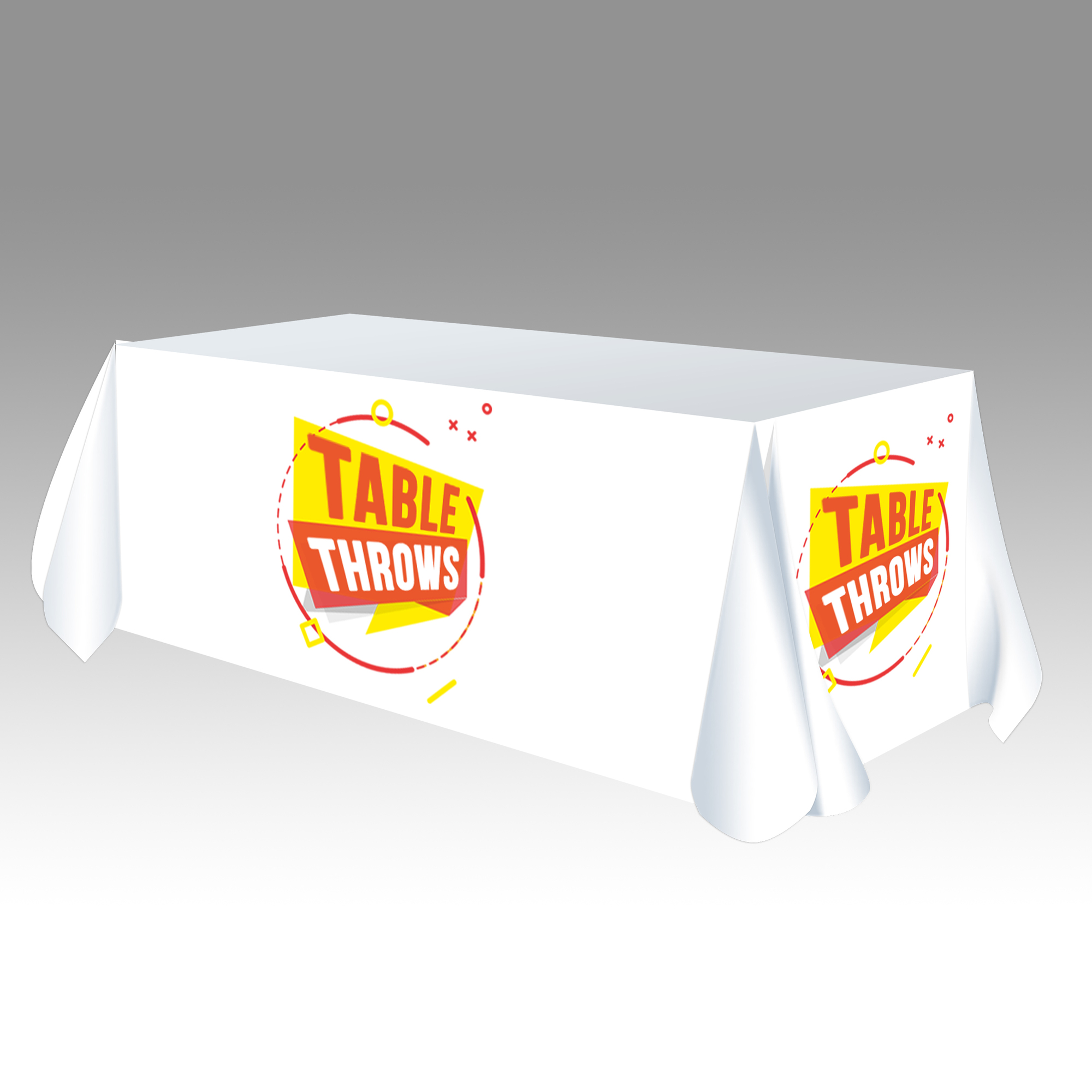 Fitted Table Throw - <span style=