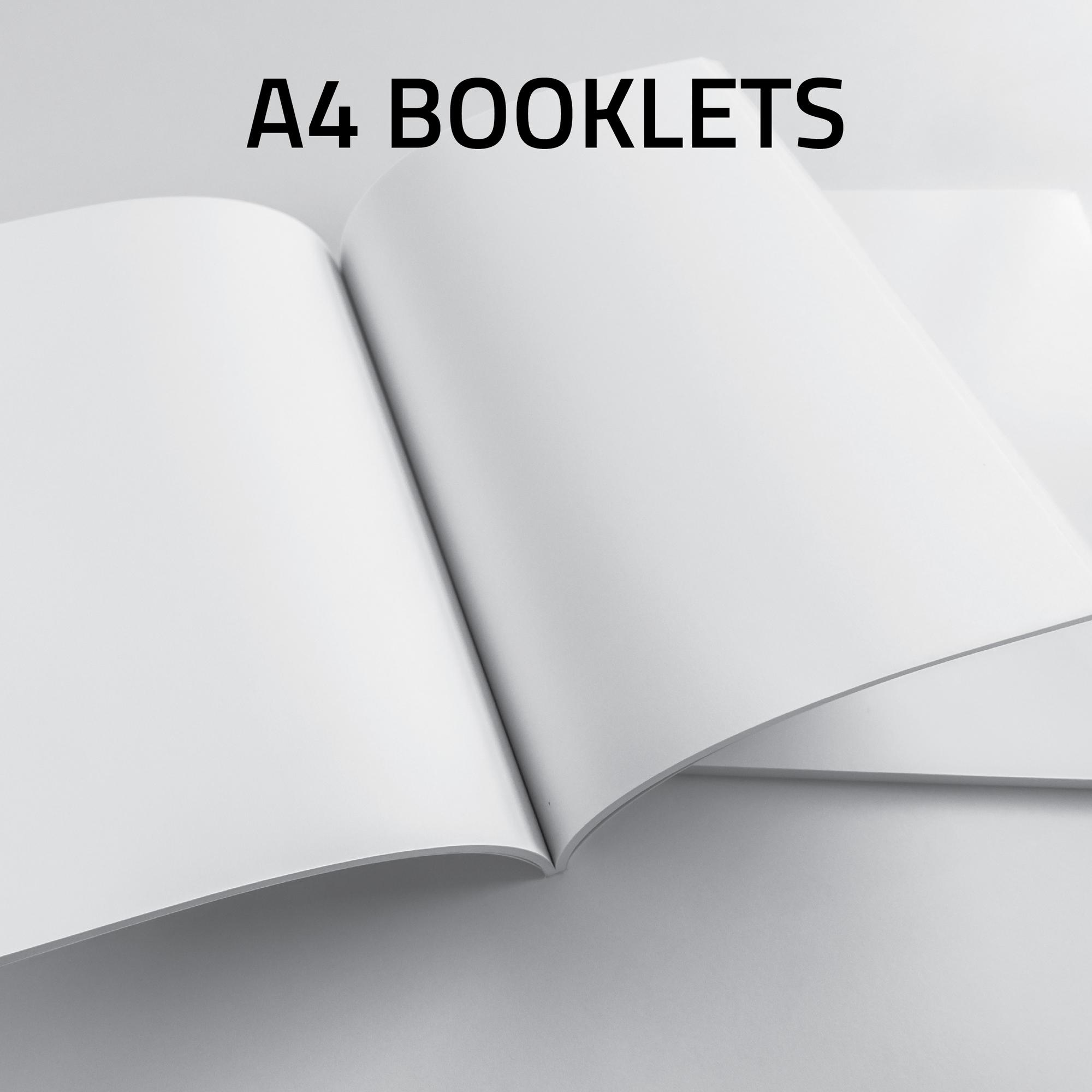A4 Booklet Landscape