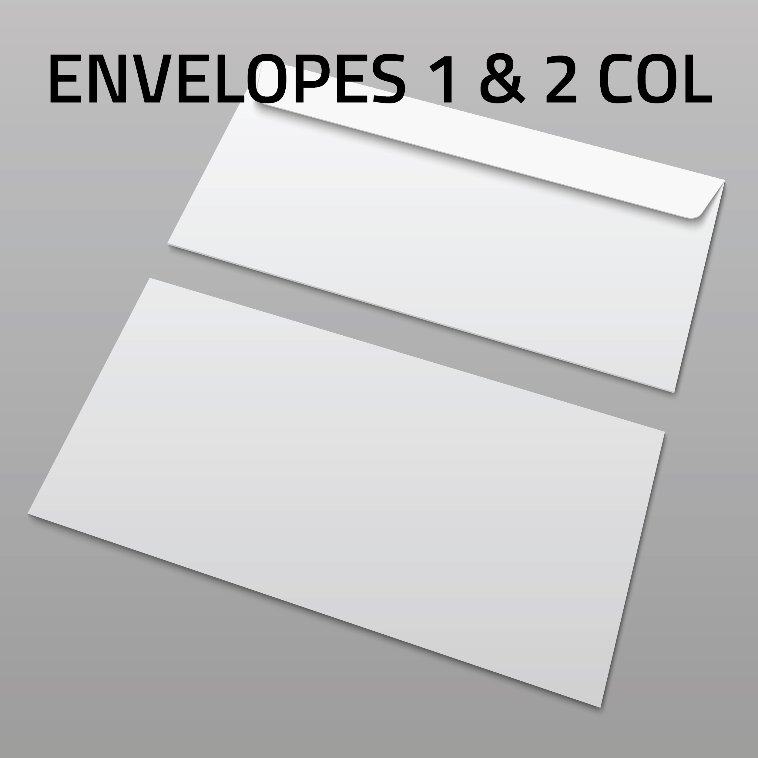 1 and 2 Colour Envelope Printing