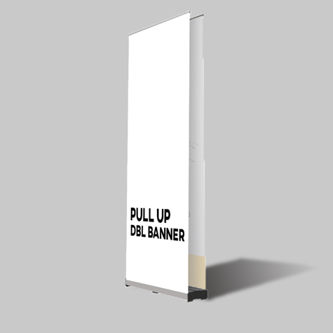 DBL Sided Pull Up Banner Sets