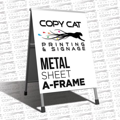 Metal Sheet A-Frame