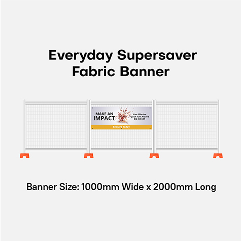 Banner - Fabric 115gsm Blockout