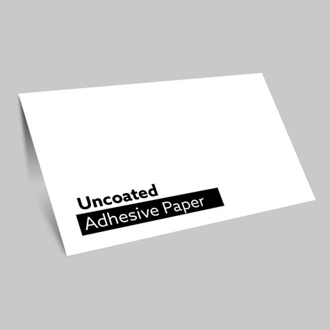 Uncoated Adhesive Paper