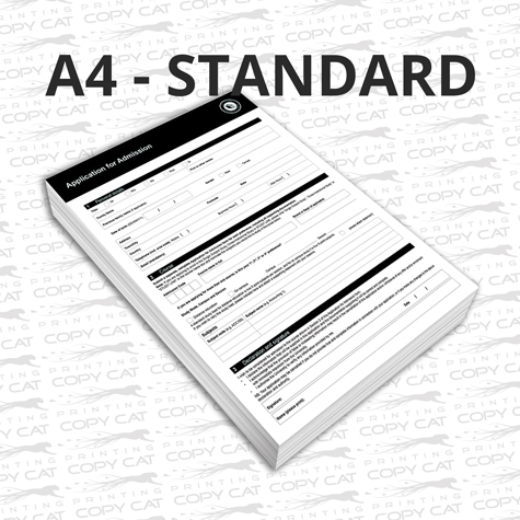 A4 Standard Colour Document Printing